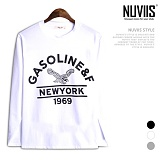 [뉴비스] NUVIIS - 이글스 라운드 긴팔 티셔츠 (TR154TS)