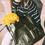 [피스메이커]PIECE MAKER - DOCUMENT TOTE BAG (BLACK) 토트백
