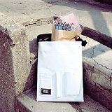[피스메이커]PIECE MAKER - DOCUMENT MINI CROSS BAG (WHITE) 미니 크로스백
