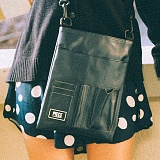 [피스메이커]PIECE MAKER - DOCUMENT MINI CROSS BAG (NAVY) 미니 크로스백