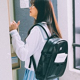 [피스메이커]PIECE MAKER - DOCUMENT BACKPACK (BLACK) 백팩