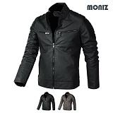 [모니즈] MONIZ  스웨이드 레더자켓 JKL145