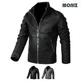 [모니즈] MONIZ  비죠포인트 레더자켓 JKL141