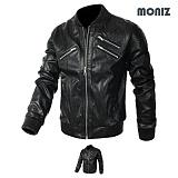 [모니즈] MONIZ  골시보리 레더자켓 JKL132