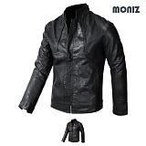[모니즈] MONIZ  절개 레더자켓 JKL129