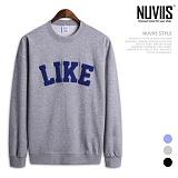[뉴비스] NUVIIS - 라이크 라운드 맨투맨 티셔츠 (SP049MT)