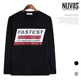 [뉴비스] NUVIIS - 딜리버리 라운드 긴팔 티셔츠 (TR158TS)