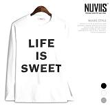 [뉴비스] NUVIIS - 스위트 라운드 긴팔 티셔츠 (TR155TS)