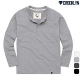 [크루클린] CROOKLYN 5P 헨리넥 긴팔 티셔츠 THL714 긴팔티 롱슬리브
