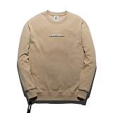 [플루크] FLUKE 17 S/S 사이드 지퍼 크루넥 맨투맨 티셔츠 FMT017C311BE 크루넥 스��셔츠