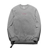 [플루크] FLUKE 17 S/S 사이드 지퍼 크루넥 맨투맨 티셔츠 FMT017C311GY 크루넥 스��셔츠