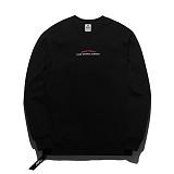 [플루크] FLUKE 17 S/S 사이드 지퍼 크루넥 맨투맨 티셔츠 FMT017C311BK 크루넥 스��셔츠