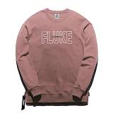 [플루크] FLUKE 17 S/S 사이드 지퍼 크루넥 맨투맨 티셔츠 FMT017C310PK 크루넥 스��셔츠