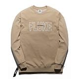 [플루크] FLUKE 17 S/S 사이드 지퍼 크루넥 맨투맨 티셔츠 FMT017C310BE 크루넥 스��셔츠
