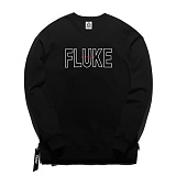 [플루크] FLUKE 17 S/S 사이드 지퍼 크루넥 맨투맨 티셔츠 FMT017C310BK 크루넥 스��셔츠