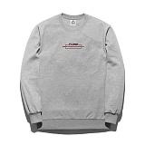 [플루크] FLUKE 17 S/S Art work 텀블 크루넥 맨투맨 티셔츠 FMT017C307GY 크루넥 스��셔츠