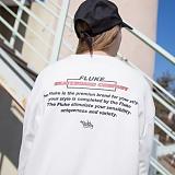[플루크] FLUKE 17 S/S Art work 텀블 크루넥 맨투맨 티셔츠 FMT017C307WH 크루넥 스��셔츠
