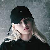 [아이넨]EINEN-Death Logo Double Piercing Ballcap Black로고 더블 피어싱 볼캡 야구모자