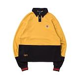 [로맨틱크라운]ROMANTIC CROWN - Laundry Day polo shirt_Mustard 폴로셔츠