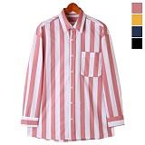 토키오 투타입 패턴 컬러 셔츠