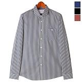 토키오 쓰리 패턴 코튼 셔츠