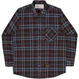 [언더에어]UNDERAIR Cynosure Shirts - Brown 체크셔츠 남방