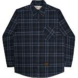 [언더에어]UNDERAIR Cynosure Shirts - Blue 체크셔츠 남방