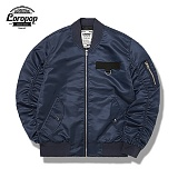 [LOROPOP]로로팝 Shirring Basic MA-1 Jacket 셔링베이직 - NAVY 자켓
