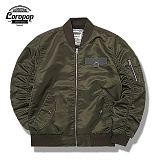 [LOROPOP]로로팝 Shirring Basic MA-1 Jacket 셔링베이직 - KHAKI 자켓