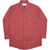 [언더에어]UNDERAIR Tile Check Shirts - Red 체크셔츠 남방