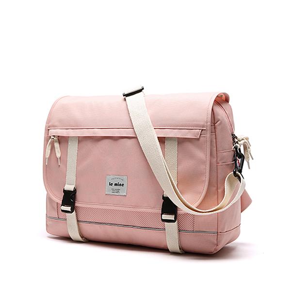 [르마인]Lemine - LE09FPK MAIL messenger 메신져백 핑크 가방 메시저백 3M