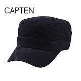 CAP10 - 옆포인트 기병모 BLACK(BK57)