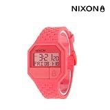 [닉슨]NIXON - Rubber Re-Run Watch A169685-00 (CORAL) 39mm 매장 전시상품 소량재고 특가찬스