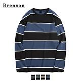 [Brenson]브렌슨 - 브로디 스트라이프 롱슬리브 티셔츠 4컬러