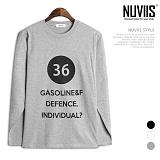 [뉴비스] NUVIIS - 디펜스 라운드 긴팔 티셔츠 (TR165TS)
