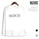뉴비스 - 킬링 라운드 긴팔 티셔츠 (TR164TS)