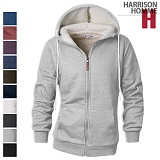[해리슨] HARRISION 인조 양털 후드 집업 DI1126