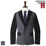 [해리슨] HARRISION 와플 배색 자켓 NS1083