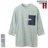 [해리슨] HARRISION 데님 포켓 단가라 T SG1156