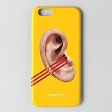 [세인트갤러리] saintgallery 아이폰 iPhone 6s/6용 아트 디자인 케이스 [Ear by DHL]