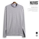 [뉴비스] NUVIIS - 단가라 반목 긴팔티셔츠 (SP050TS)