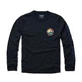 [아베크롬비]Abercrombie 긴팔 티셔츠 0929 099 네이비 Abercrombie tee 맨투맨 남녀공용