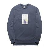 [플루크] FLUKE 17 S/S 아트웍 pigment 크루넥 맨투맨 티셔츠 FMT017C345DB