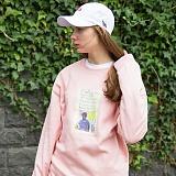 [플루크] FLUKE 17 S/S 아트웍 pigment 크루넥 맨투맨 티셔츠 FMT017C345PK