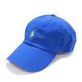 [폴로]POLO 랄프로렌 말자수 로고 캡 모자 연블루(연두로고) 볼캡 야구모자 정품 국내배송