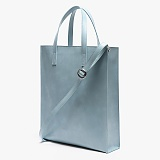 [피스메이커]PIECE MAKER - LEATHER SQUARE SHOULDER&TOTE (SOFT BLUE)