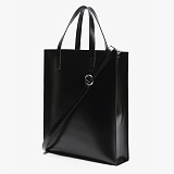 [피스메이커]PIECE MAKER - LEATHER SQUARE SHOULDER&TOTE (BLACK)