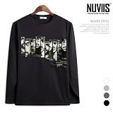 [뉴비스] NUVIIS - 서브 프린팅 긴팔티셔츠 (TR172TS)