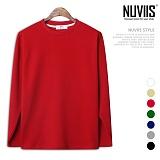 [뉴비스] NUVIIS - 30수 특양면 라운드 긴팔티셔츠 (RW075TS)
