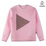[플레이언] PLAY Crew Neck_pink(17PLAYT-A04pk) 맨투맨 핑크